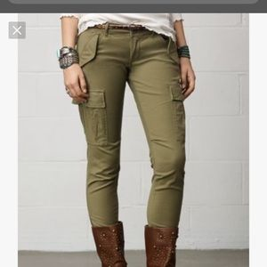 Denim and supply skinny cargo pants size 30